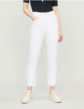 Riley Cropped Straight High Rise Jeans by Agolde