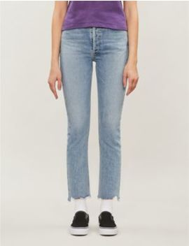 Riley Straight High Rise Jeans by Agolde