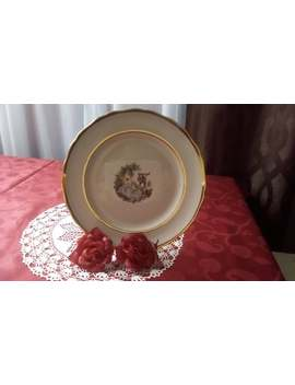 Courting Couple Plate by Etsy