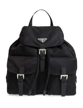 Large Nylon Backpack by Prada