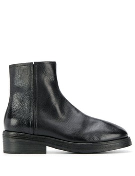 Textured Side Zip Boots by Marsèll