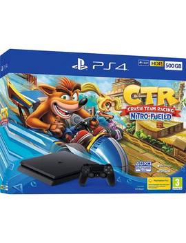 Sony Ps4 500 Gb Console & Crash Team Racing Bundle125/4738 by Argos