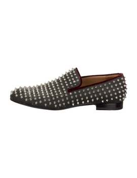 Rollerboy Spikes Flat Loafers by Christian Louboutin