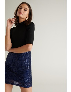 Holly Glitter Skirt by Ginatricot