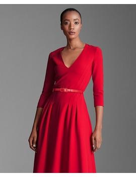 Raeana Double Faced Wool Dress by Ralph Lauren