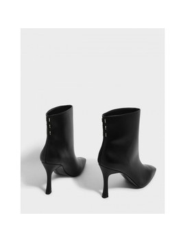 Mini Square Toe Boots by Charles & Keith