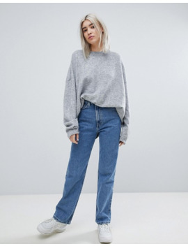 Row Blå Jeans Fra Weekday by Weekday