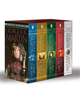 George R. R. Martin's A Game Of Thrones 5 Book Boxed Set (Song... by George R. R. Martin