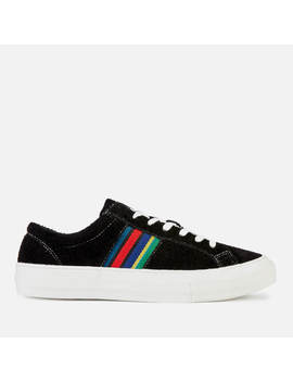 Ps Paul Smith Men's Antilla Suede Low Top Trainers   Black by Ps Paul Smith