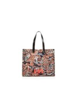 Flying Tiger Jacquard Tote Bag   Multicolour by Kenzo