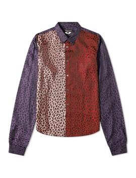Comme Des Garcons Homme Plus Patchwork Leopard Print Shirt by Comme Des Garcons Homme Plus