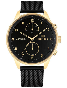 1791580 Chase Black Watch by Tommy Hilfiger
