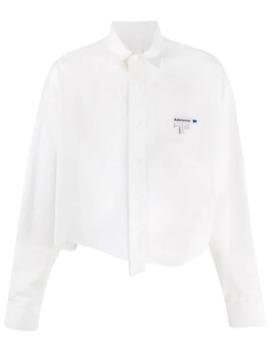 Ungesäumtes Cropped Hemd by Ader Error