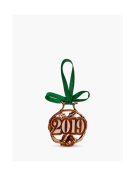 English Pewter Company 2019 Copper Christmas Tree Decoration by English Pewter Company