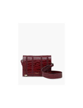 Radley Haven Street Leather Cross Body Bag, Burgundy by Radley