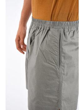 Drkshdw Cotton Bermuda Pants by Rick Owens
