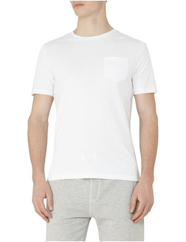Poole Dot Print T Shirt by Reiss