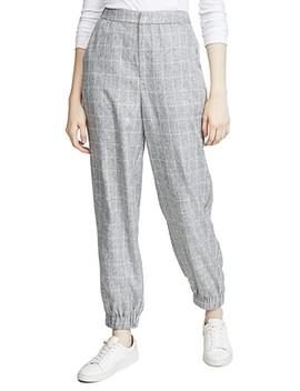 Checkered Jogger Pants by English Factory