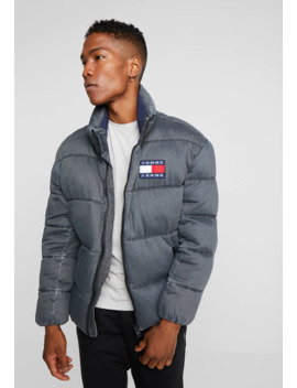 Washed Padded Jacket   Winter Jacket by Tommy Jeans