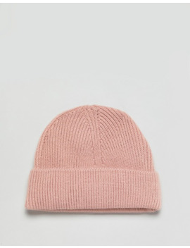 Svnx Fishermans Beanie In Pink by Asos