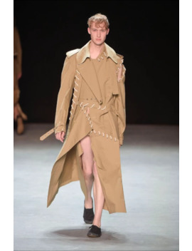 17 Ss Show Piece Trench Coat by Craig Green  ×