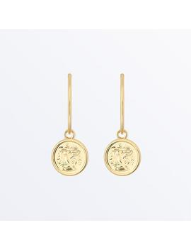 Zodiac Jewelry     Sagittarius Hoop Earrings              Regular Price      $59 by Ana Luisa