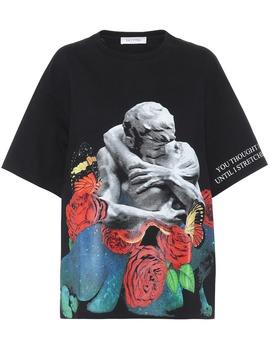 Bedrucktes T Shirt Aus Baumwolle by Valentino