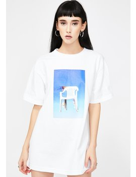 Chair Graphic Tee by Pleasures