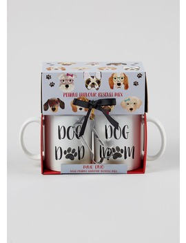 Dog Parent Mug & Biscuit Mix Set by Matalan