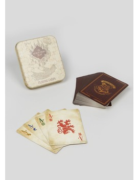 Harry Potter Playing Cards (11cm X 9cm X 2cm) by Matalan