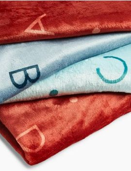 Alphabet Pet Blanket by Marks & Spencer