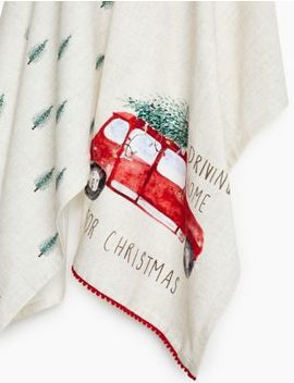 2 Pack Driving Home Tea Towels by Marks & Spencer