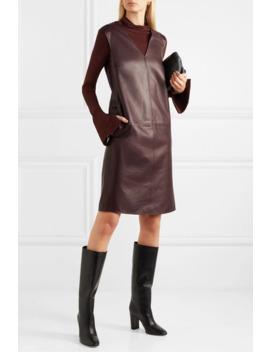 Gwen Leather Dress by Joseph