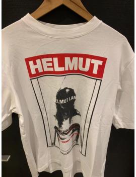 Helmet Lang Print T Shirt White by Helmut Lang  ×