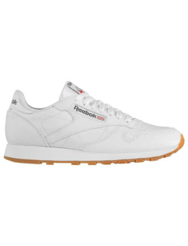 Classic Leather Mens Trainers by Reebok