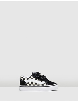 Old Skool V Check Infant by Vans
