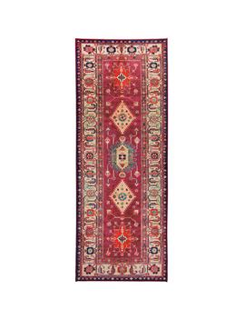 Washable Noor Ruby 2.5 Ft. X 7 Ft. Stain Resistant Runner Rug by Ruggable