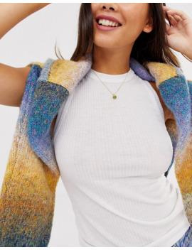 Pilgrim – Vergoldete Halskette Mit Grünen Anhängern by Asos