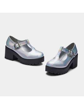 Sai Hologram Mary Janes by Koi Footwear