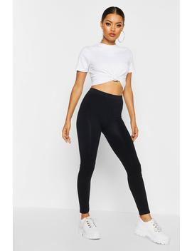 Basic Supersoft Leggings by Boohoo