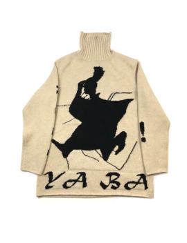 Yohji Yamamoto Pour Homme Samurai Rollneck Sweater by Yohji Yamamoto  ×
