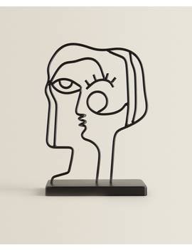 Decorative Face Figure  Decor Accessories   Decoration   Living Room by Zara Home