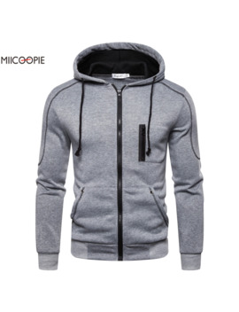 Miicoopie 2019 Mens Hoodies Solid Pullover Mens Outdoor Street Wear Mens Hoodie Sweatshirt by Ali Express.Com