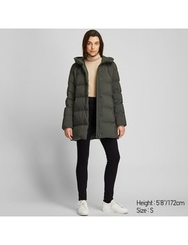 Women Seamless Down Short Coat (5) by Uniqlo