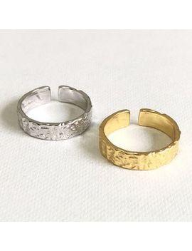 Galileo   Irregular 925 Sterling Silver Open Ring by Galileo