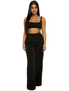 Don't Fringe With Me Trousers by Naked Wardrobe