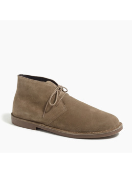 Suede Desert Boots by J.Crew