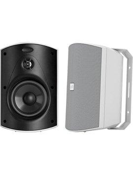 """Patio 200 5"""" 2 Way Indoor/Outdoor Loudspeakers (Pair)   White by Polk Audio"""