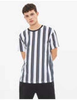 Pruhované Tričko by Bershka
