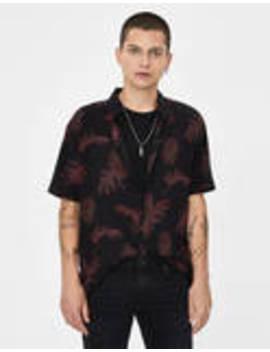 Košile STropickým Listem by Bershka